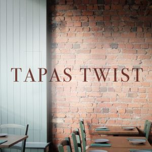 logo Tapas Twist, Abergavenny, tapas restaurant, Abergavenny restaurant, tapas restaurant in Abergavenny